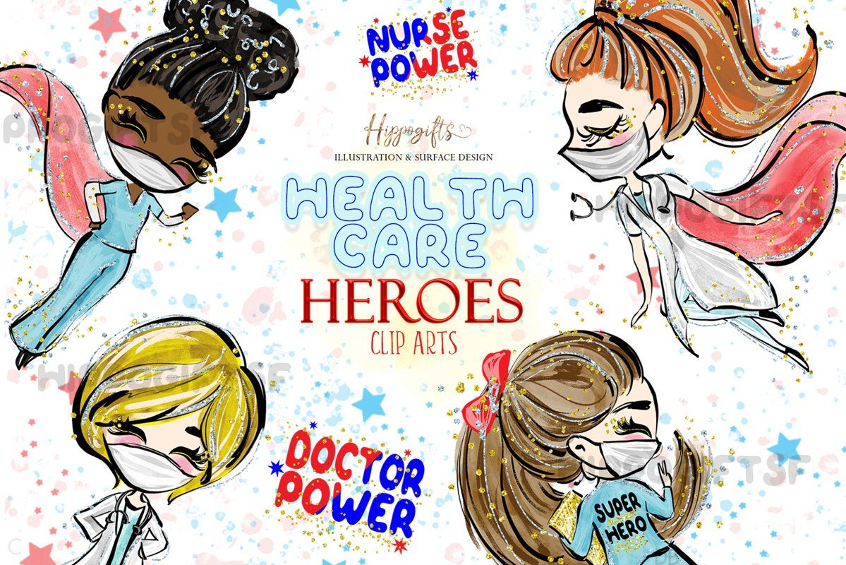 Healthcare heroes cliparts 542811 illustrations