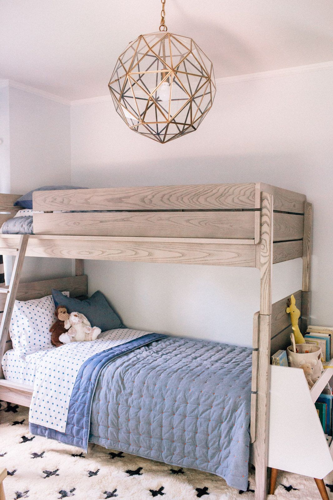 crate and kids beds on charlie s bedroom makeover with crate and kids hello adams family bunk bed designs bunk beds modern bunk beds bunk bed designs bunk beds