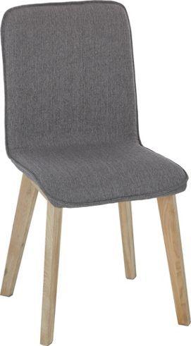 Attraktiver Stuhl im reduzierten Design - ein Blickfang mit Retro-Chic