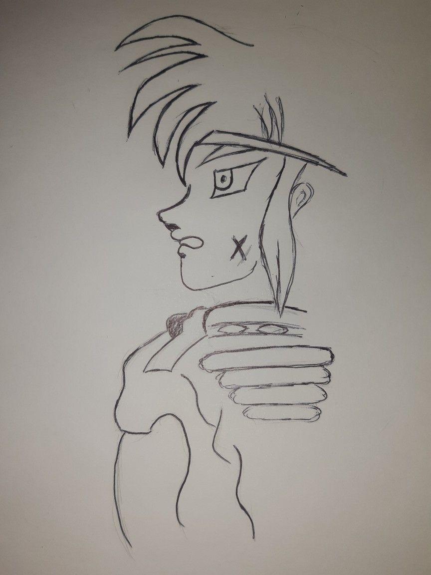 هزيم الرعد Art Sketches Pencil Art Drawings Drawings