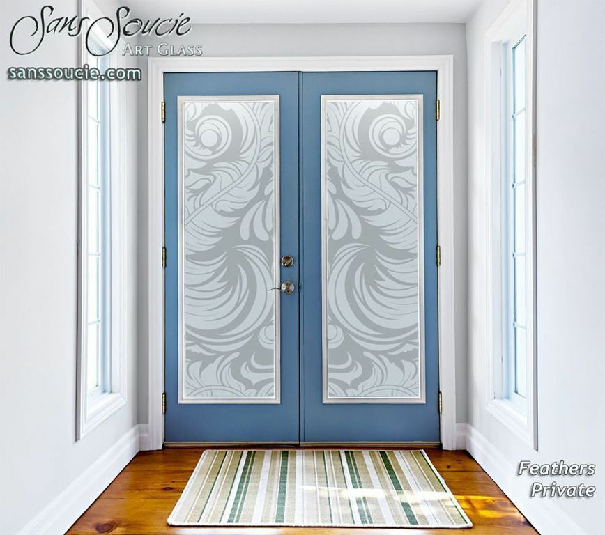 Endless Designs With Frosted Glass Doors Sans Soucie Etched