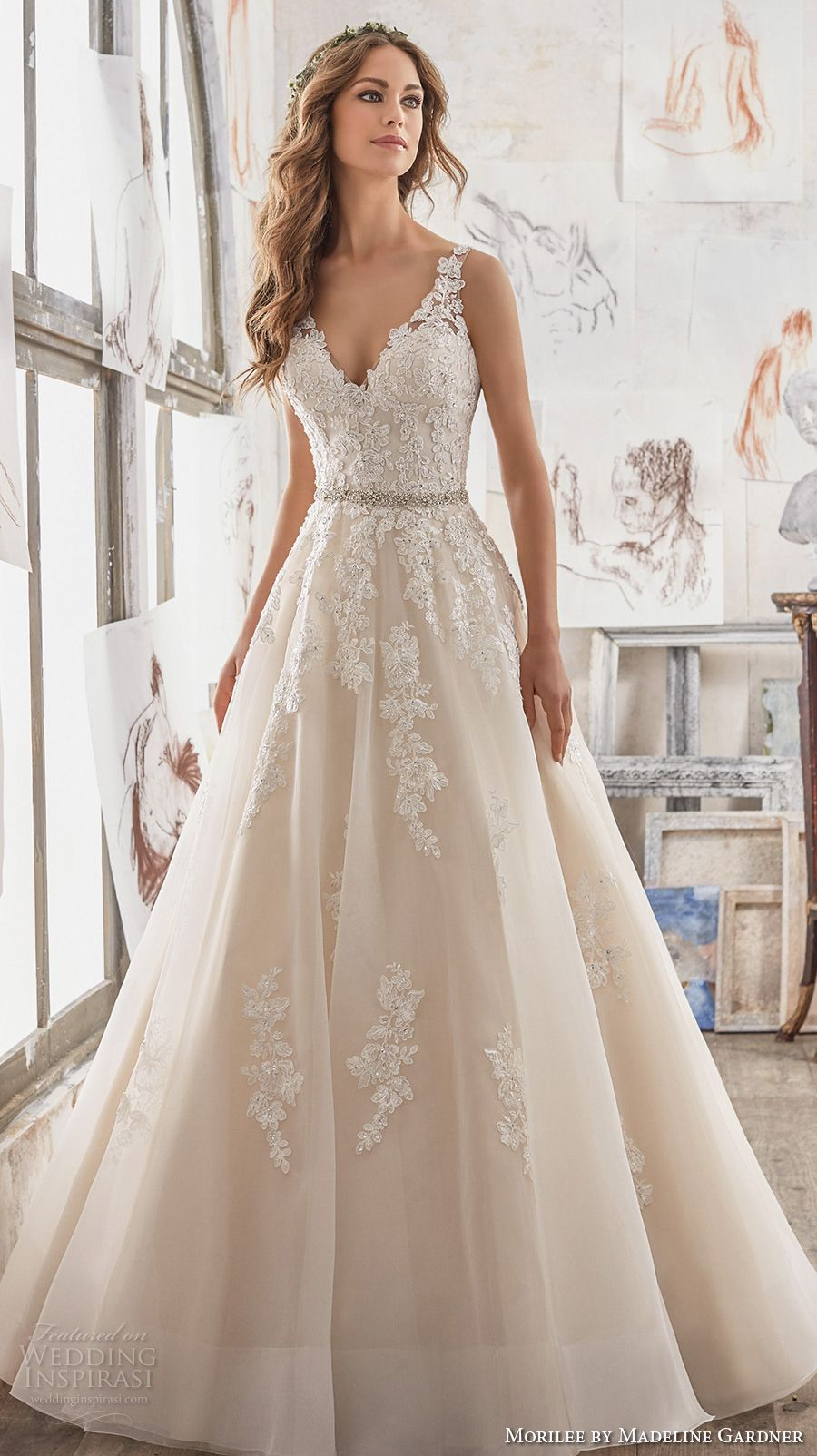Morilee by madeline gardner spring 2017 wedding dresses for A line wedding dresses 2017