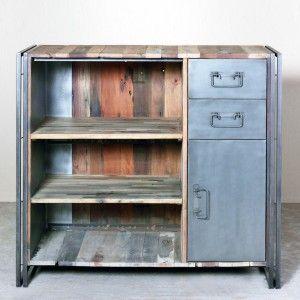 Tables Bureaux Design Industriel Meuble Bar Industriel