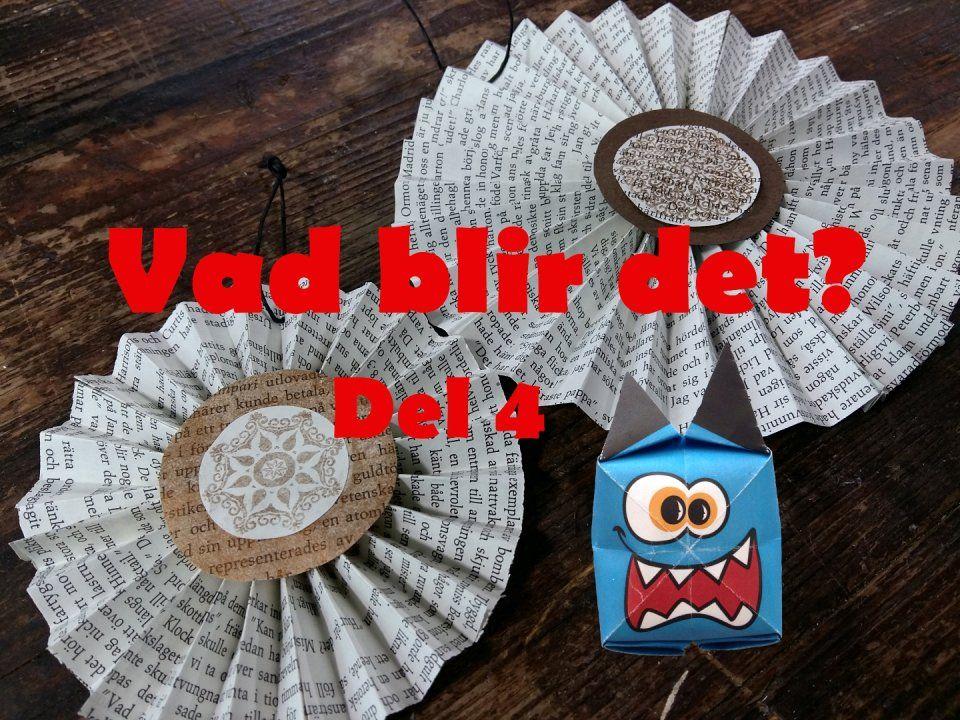 DIY. Make a circle decoration stars of an old book. Translate from Swedish.  //  Det finns mycket man kan göra av gamla böcker som ingen längre läser. Hajbo tipsar.