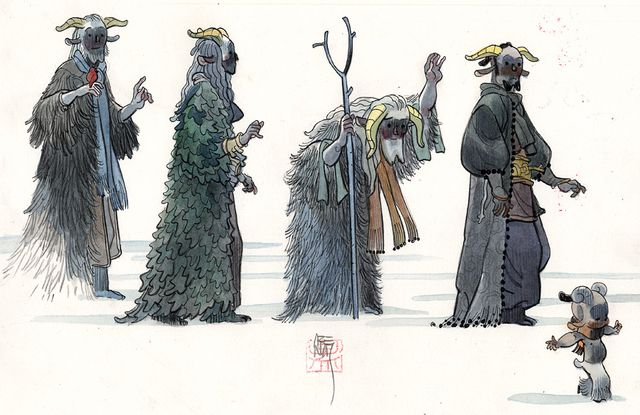 Character Design Site : Dodecaden production design man arenas web site illustration
