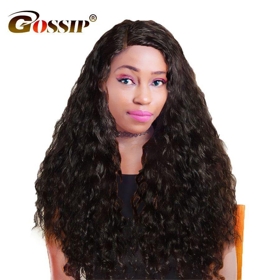Gossip brazilian hair weave bundles piece water wave human hair