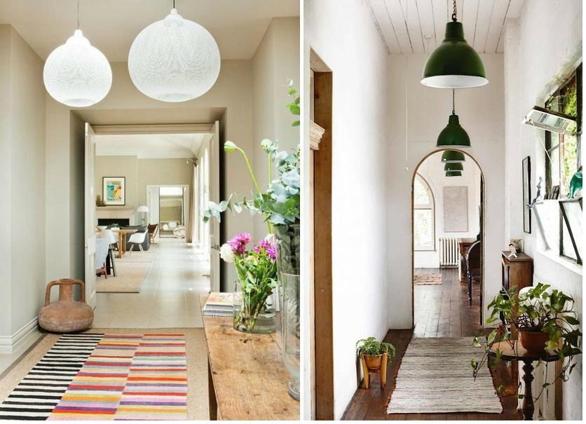 L mparas colgantes para pasillos decoraci n ambientes y - Lamparas de interiores ...