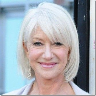 Old Lady Hairstyles Gorgeous Helen Mirenclassy Lady Love Her Look  Hair  Pinterest