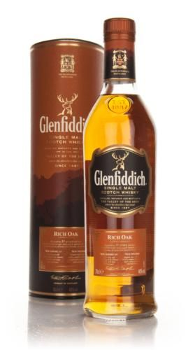A recent release edition from Glenfiddich, this was aged for 14 years before a finish in new American and Spanish oak casks. They say the American oak adds spice, vanilla and fruit, and the Spanish oak brings elegant fruit, spice and complexity.