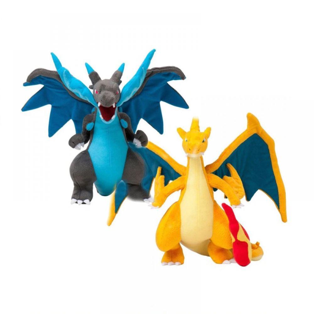 Peluches Pokemon Mega Evolution X Et Y Dracaufeu Prix 1956