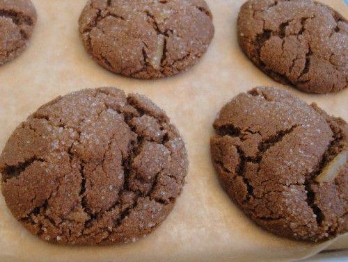 grain free molasses cookies by Carol Fenster