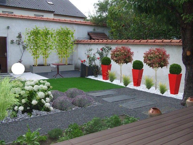 Beautiful Jardin Moderne Contemporain Images - Amazing House Design ...