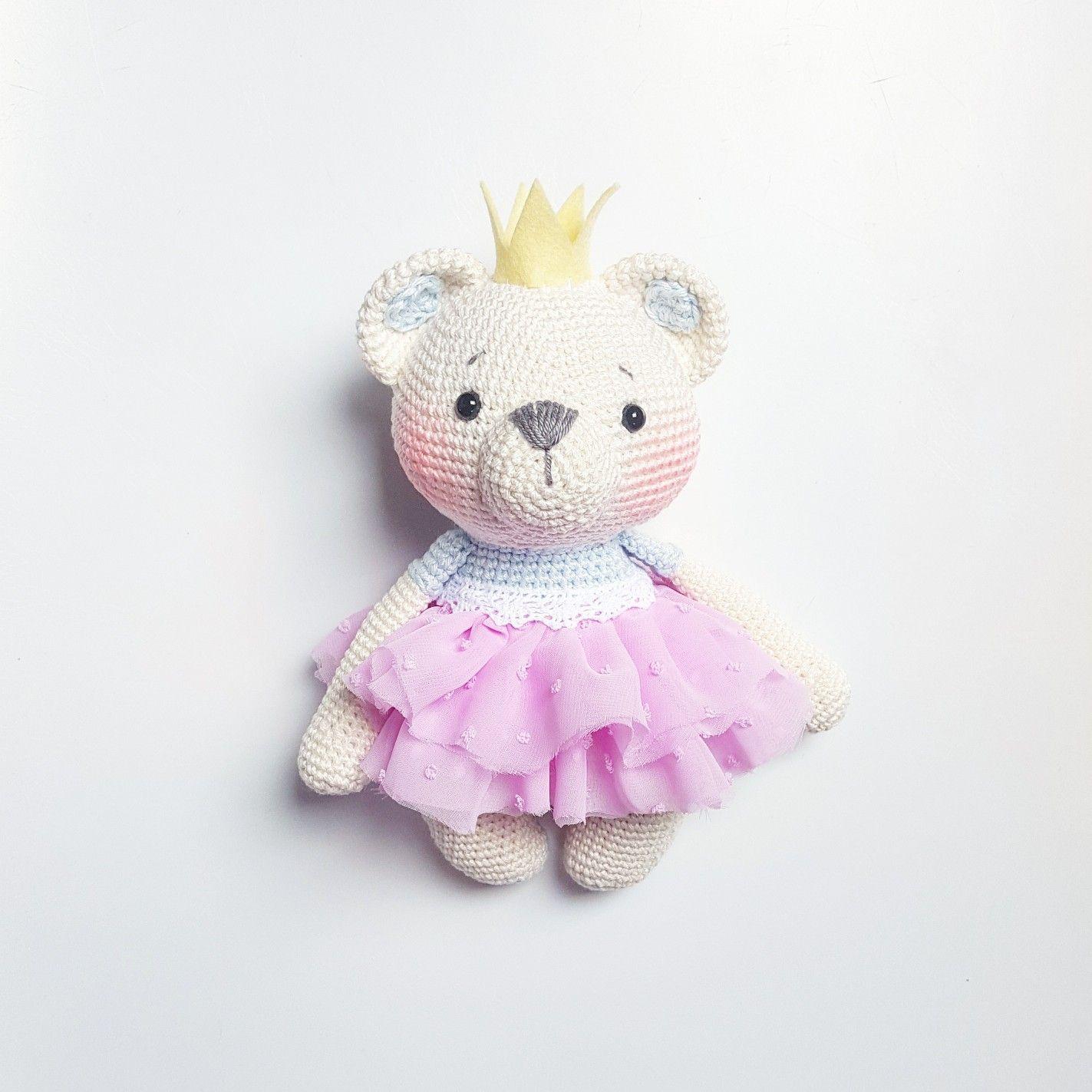 Amigurumi Teddy Bär Pattern Amalou.Designs | crochet toys ...