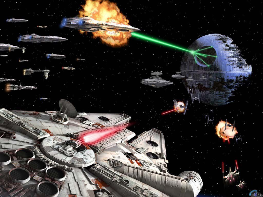 Star Wars Space Battle Wallpaper Star Wars Wallpaper Star Wars