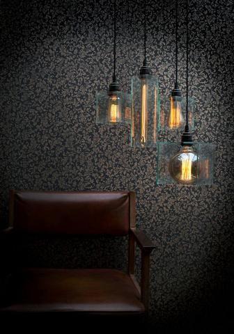 Alchemist Classic Pendant Cluster - Filament Hanging lights- Vintage  lighting - Filament Lights for bars
