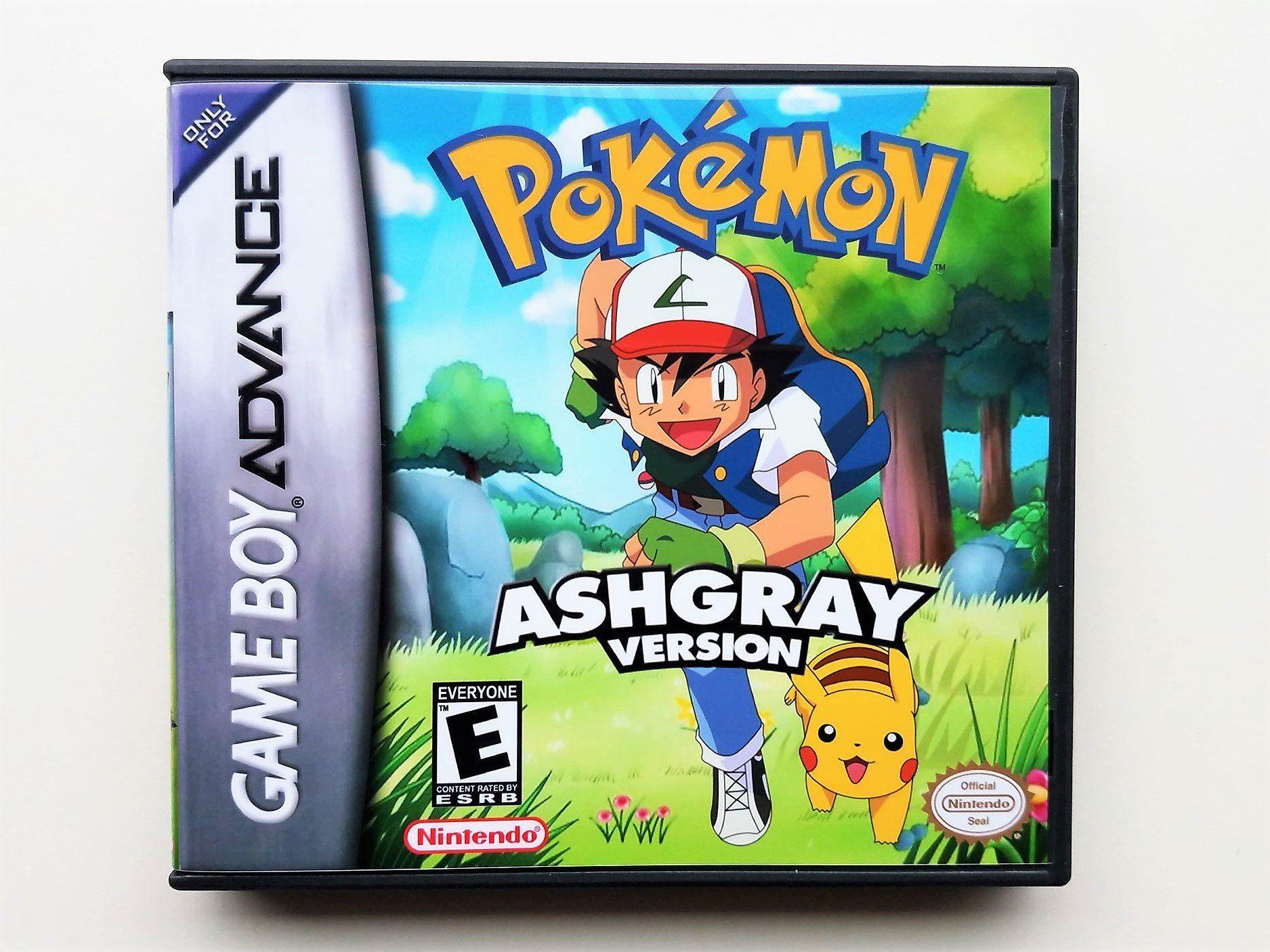 Pokemon Ash Gray Gba Pokemon Ash Gray Pokemon Games Like Pokemon