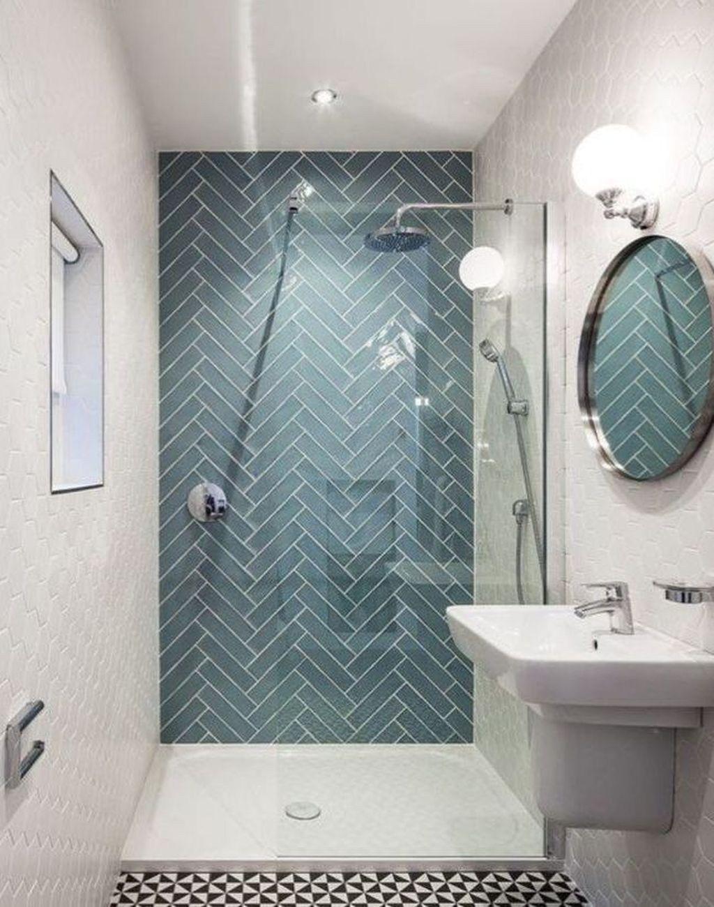 Unusual Scandinavian Bathroom Everyone Should Try 37 Small Bathroom Remodel Small Bathroom Tiles Bathroom Shower Tile