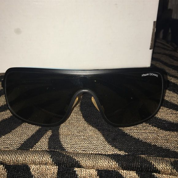 Armani exchange sunglasses Matte black Armani Exchange Accessories Sunglasses