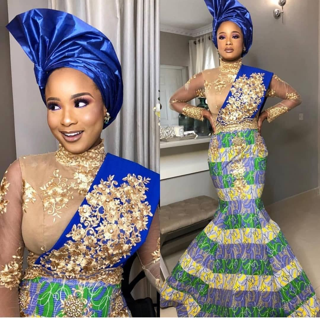 Elegant African Dresses For Weddings Saminu123 In 2019 African