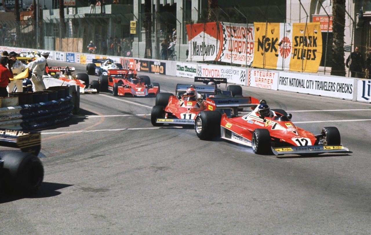 Image result for 1977 USA West gp lauda