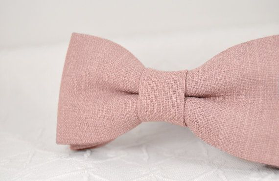 Dusty Rose Bow Tie Dusty Pink Bow Tie Wedding Ot Mrfoxbowties Rosa Fliege Altrosa Hochzeit Fliege Hochzeit