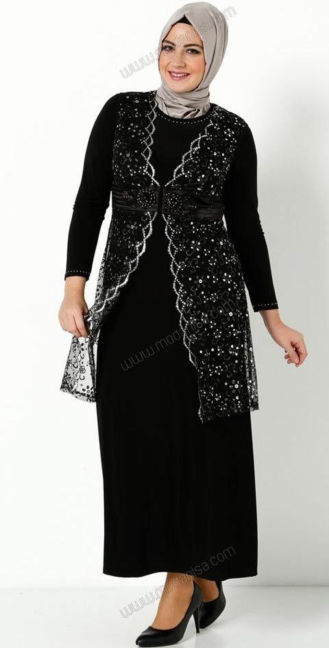 2014 Buyuk Beden Tesettur Modelleri 21 Islami Giyim Sirin Elbiseler Elbiseler