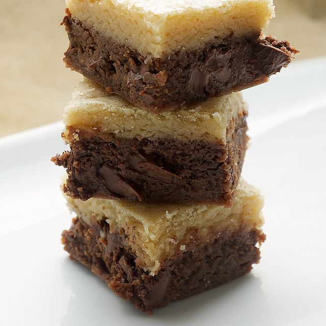 Black-Bottom Cookie Bars