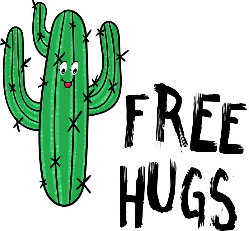 Funny Cactus Free Hugs Funny Signs For Work Free Hugs Cactus Quotes