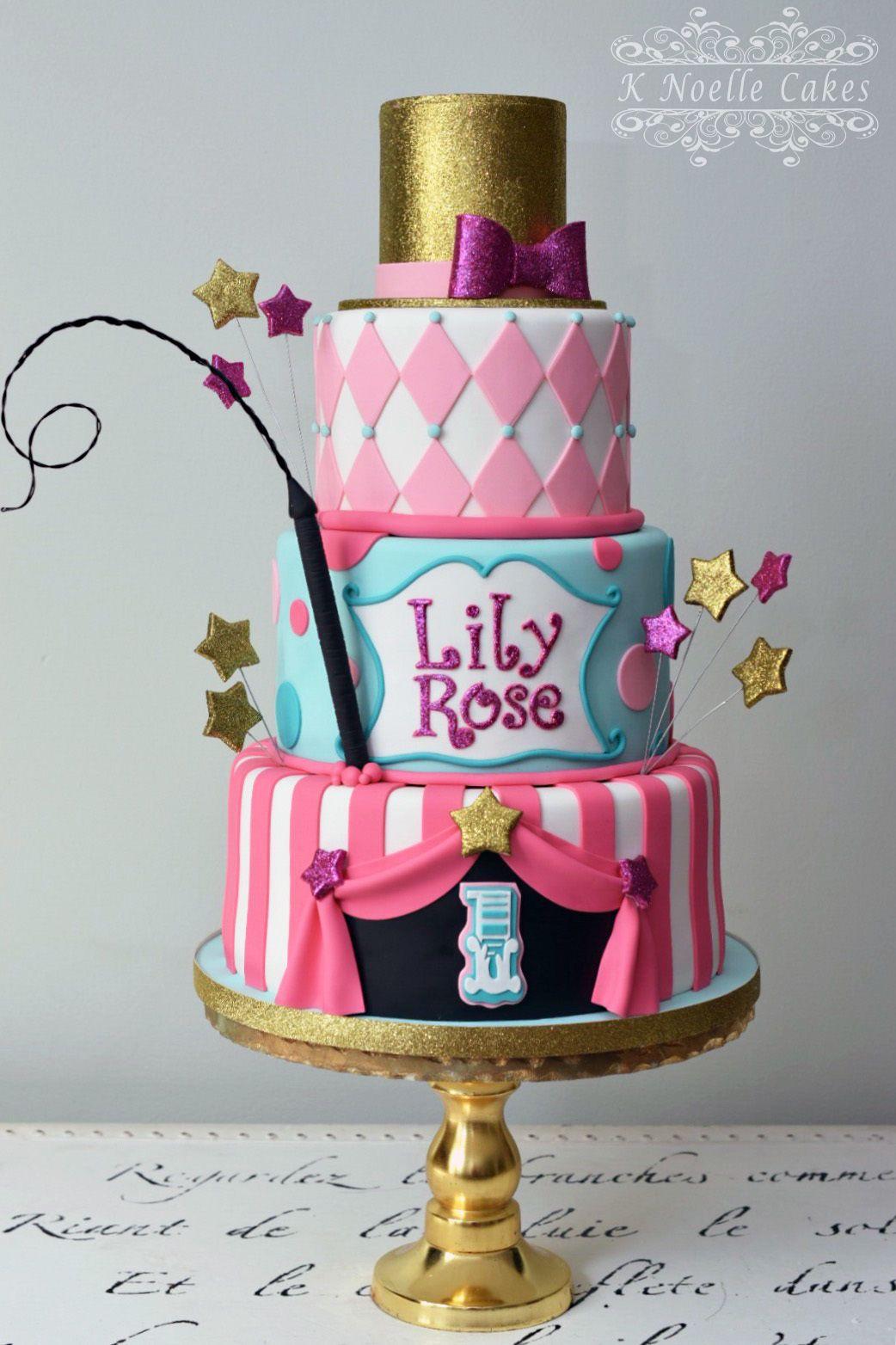 Circus themed girls birthday Amazing cakes Pinterest Girl