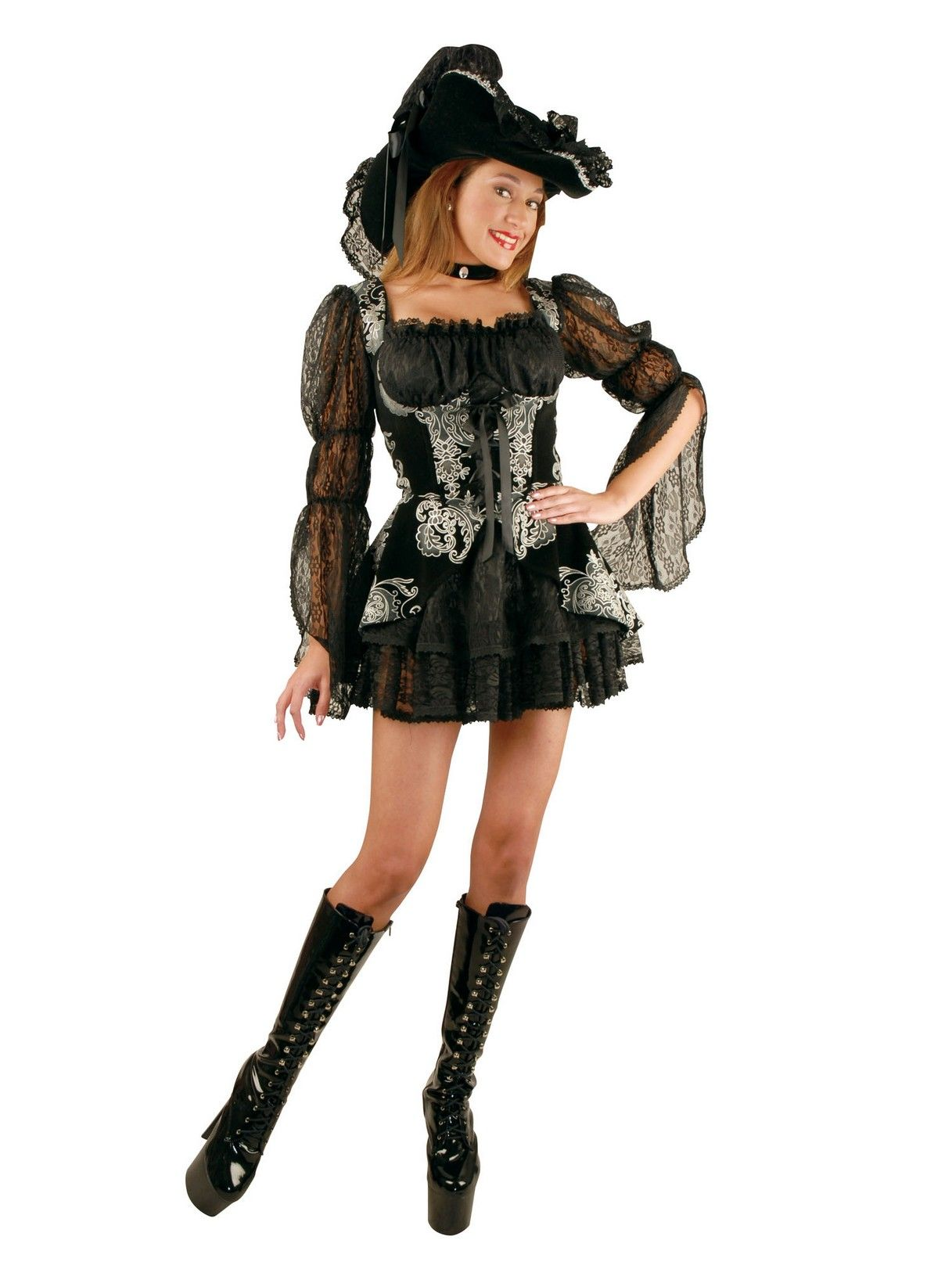Lacey Pirate Dress Pirate dress, Costumes for women, Women