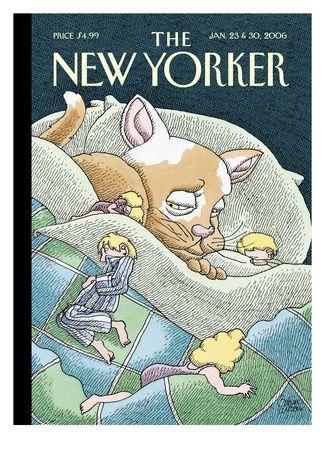 Copertina - The New Yorker - 23 gennaio 2006 (Gahan Wilson)