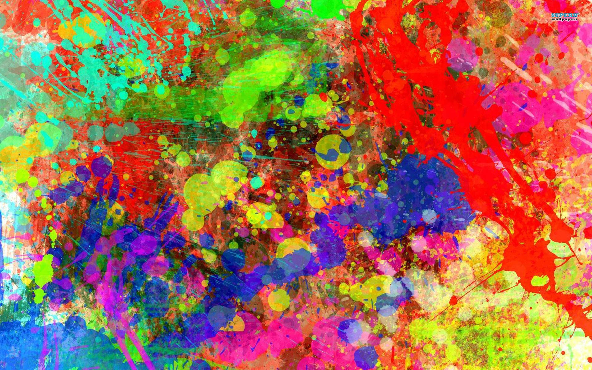 Pin By Elena Root On Paint Splatter Posters Art Prints Painting Rainbow Wallpaper