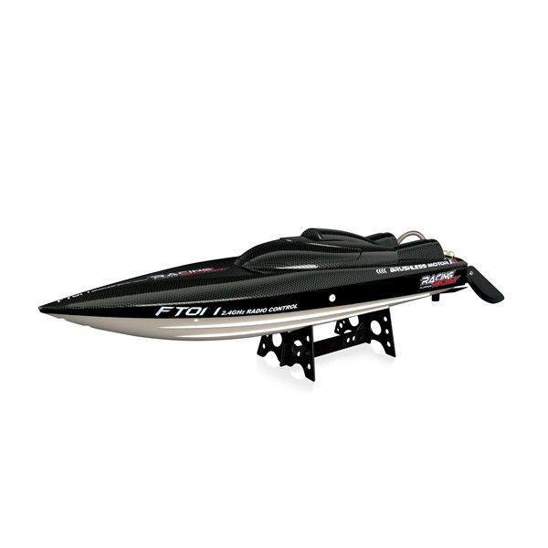 Feilun FT011 65 CM 2.4G Brushless RC Barca di Corsa Ad Alta Velocità della Barca del Rc Senza Batteria