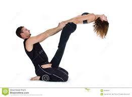 resultado de imagem para fotos de yoga de dois  yoga em