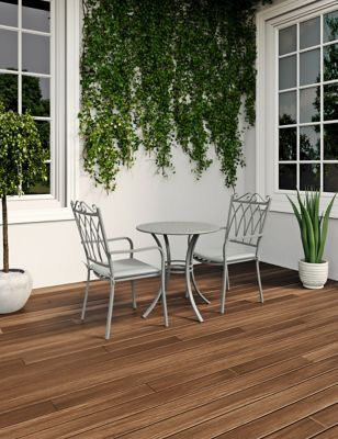 Photo of Rosedale Garden Bistro Table & Set of 2 Chairs | M&S