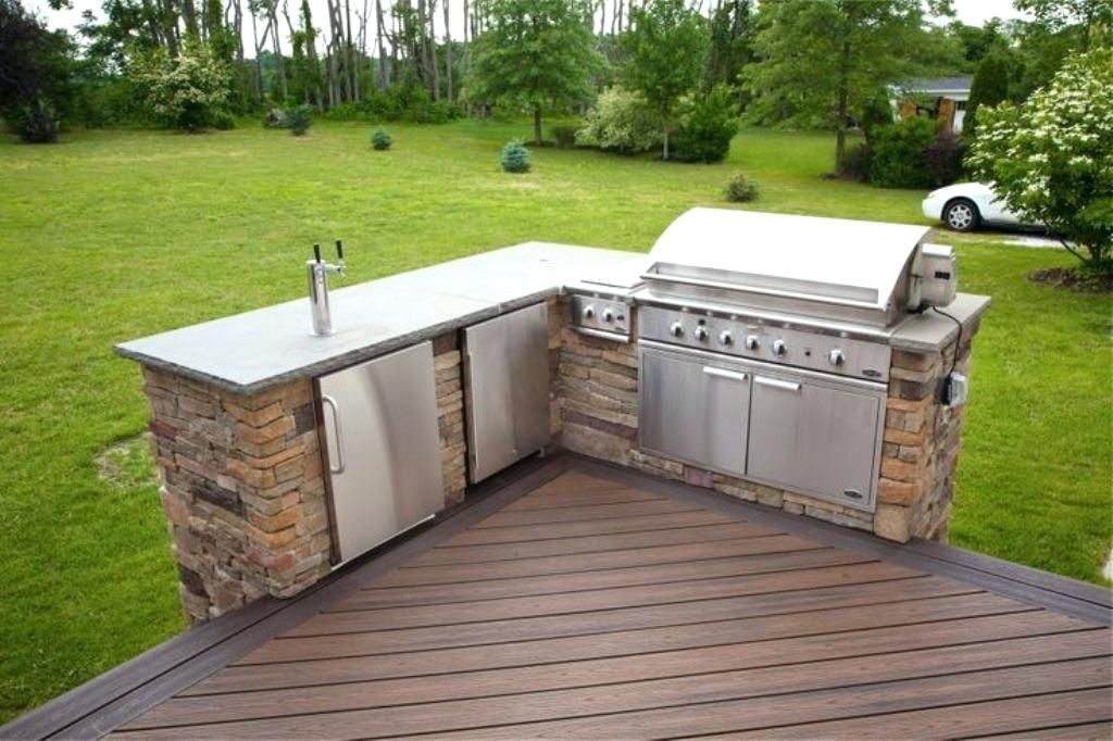 L Shaped Deck Download L Shaped Outdoor Kitchen Shaped Decks Radzi Me Outdoor Kitchen Build Outdoor Kitchen Outdoor Kitchen Grill
