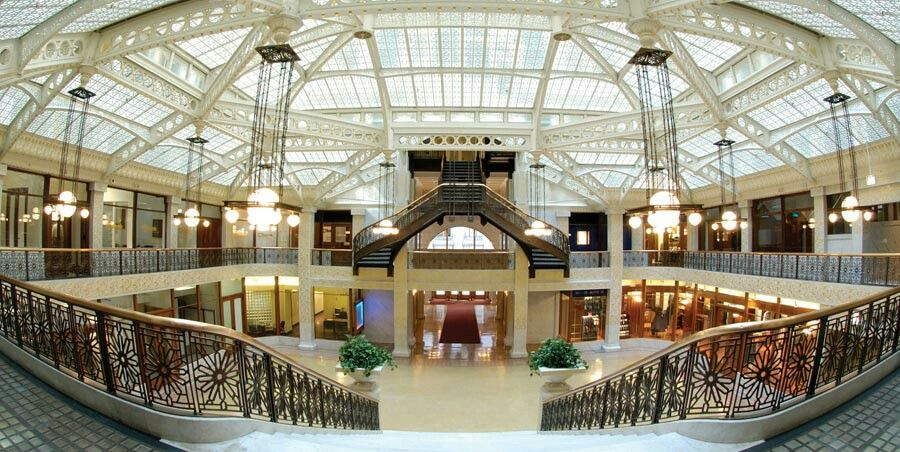 The Rookery Building In Chicago Il I M On A Wedding Venue Frenzy Hily Ever Afterfrank Lloyd Wrightoffice