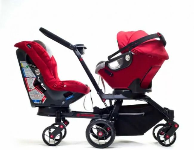 Orbit Baby Double Stroller Orbit Baby Double Strollers