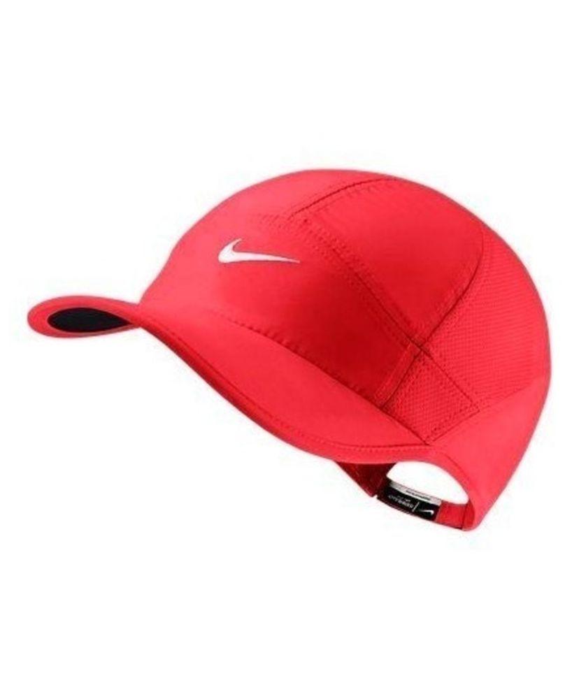 WOMEN S PINK TENNIS NIKE HAT 613968 685 GOLF FEATHERLIGHT DRI-FIT CAP  Nike 870a480b682