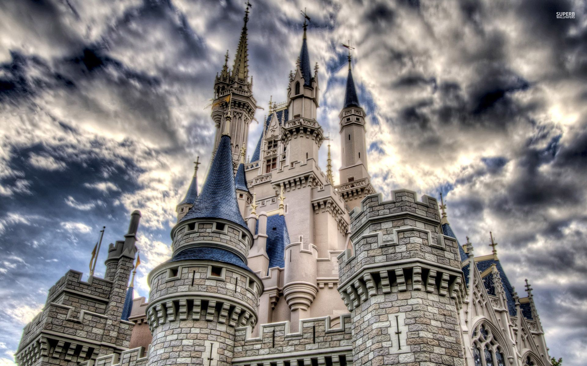 Charming Disney Castle Desktop Wallpaper