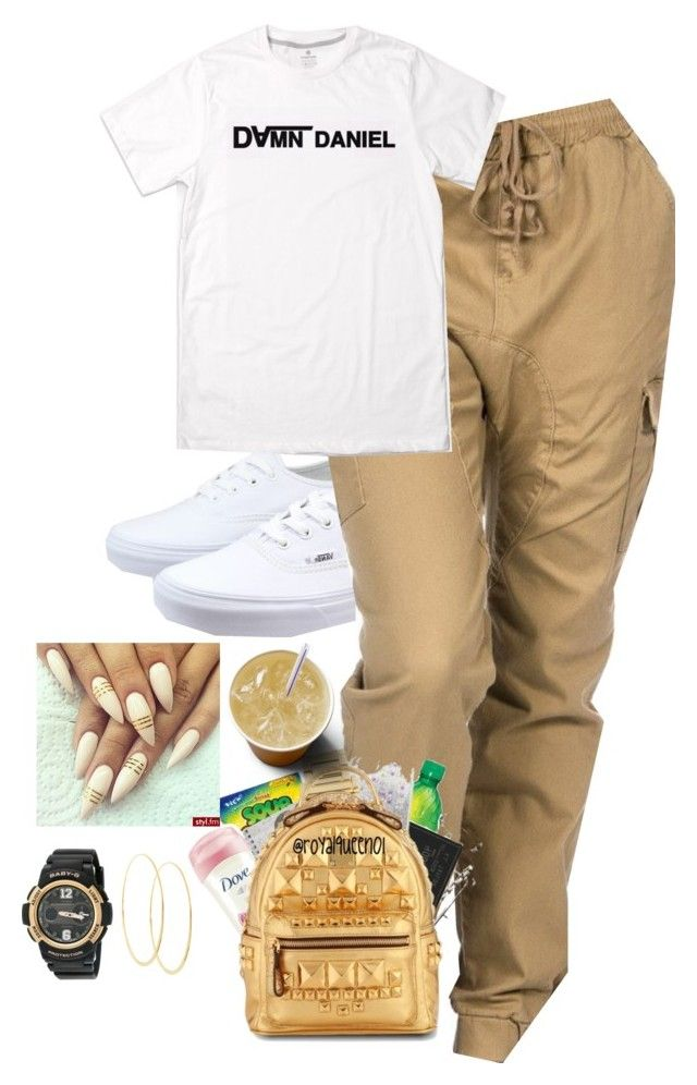 """Untitled #70"" by jadahboo02 ❤ liked on Polyvore featuring Vans, G-Shock and Lana"