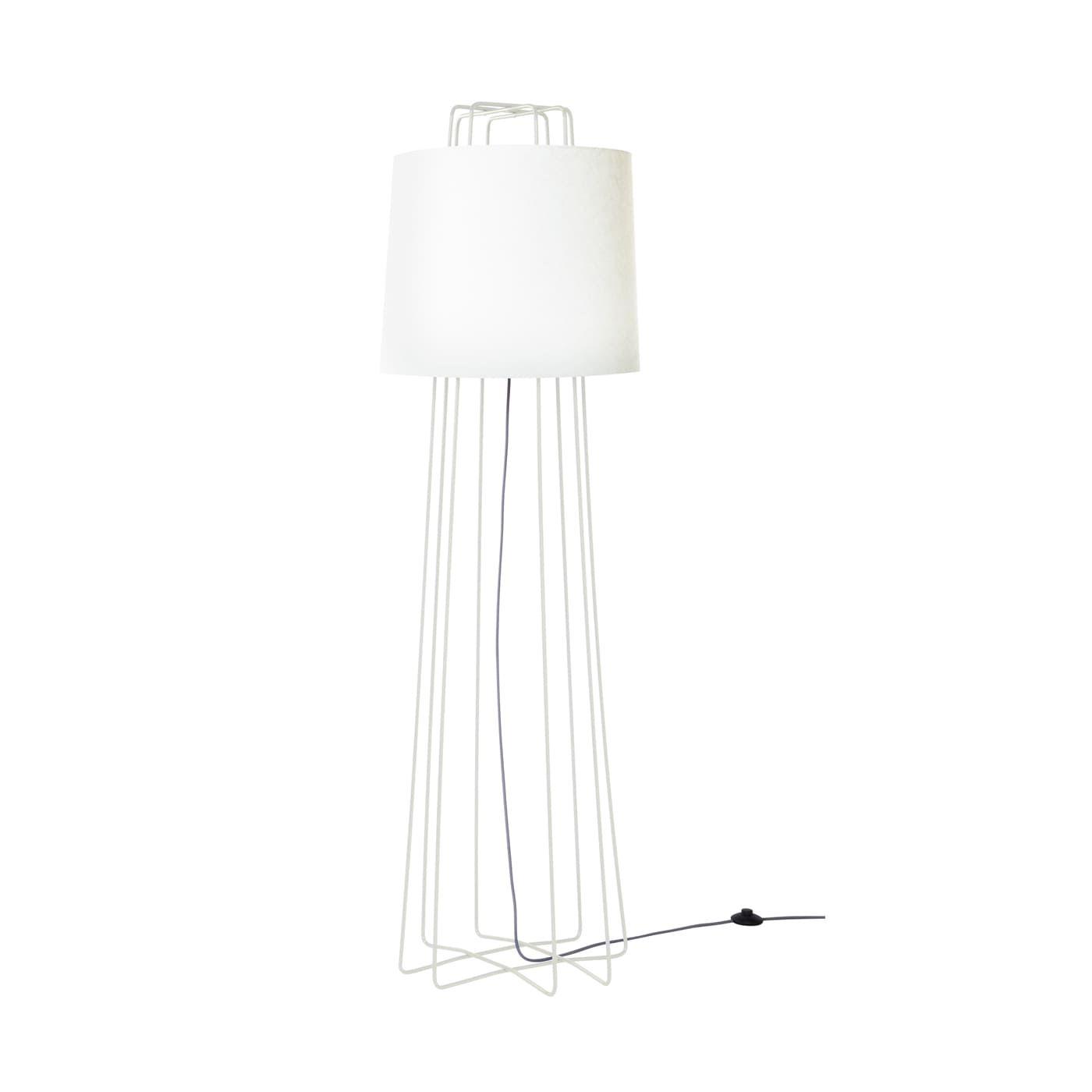 Perimeter Floor Lamp White White In 2019 Unique Floor