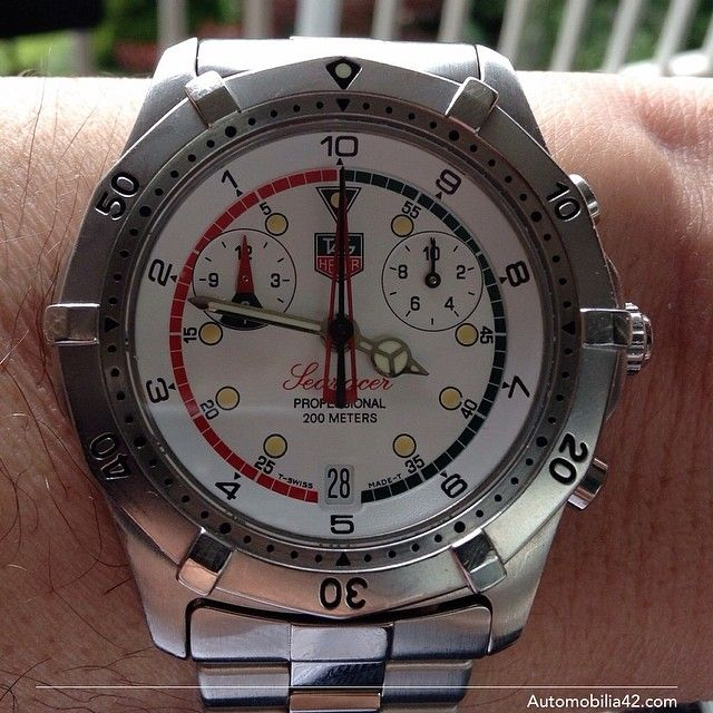 cdf99495e790 TAG Heuer Searacer Regatta Chronograph Stainless steel with a white dial  CK111R
