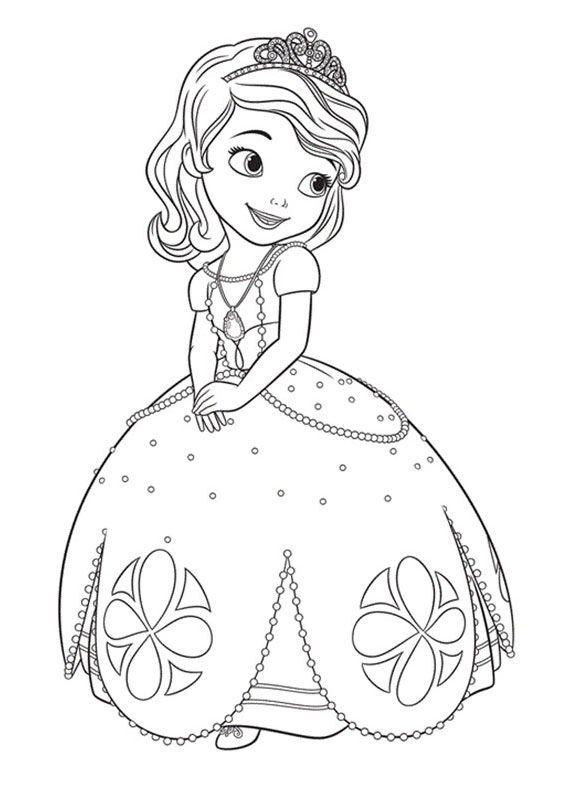 Risultati immagini per principesse da colorare da stampare ...