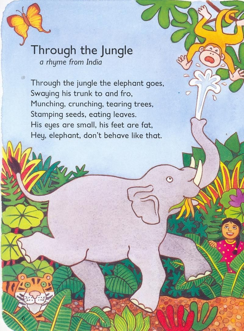 Do You See? Song | Wild Animals | Learn English Kids.Let's Go To The Zoo | Animal Song for Kids.Walking Through the Jungle..Walking Through the Jungle: .uk: Julie Lacome ....Walking through the Jungle, a wonderful story read for kids.The Animal Boogie.Walking In The Jungle | Super Simple Songs..Miss Griffin'...
