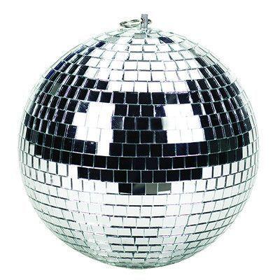 12-inch Diameter Disco Professional Mirror Ball