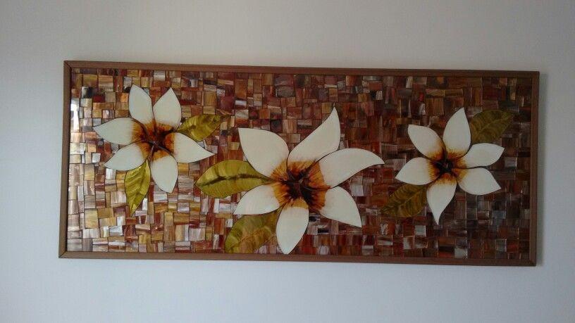 Flores em vidro