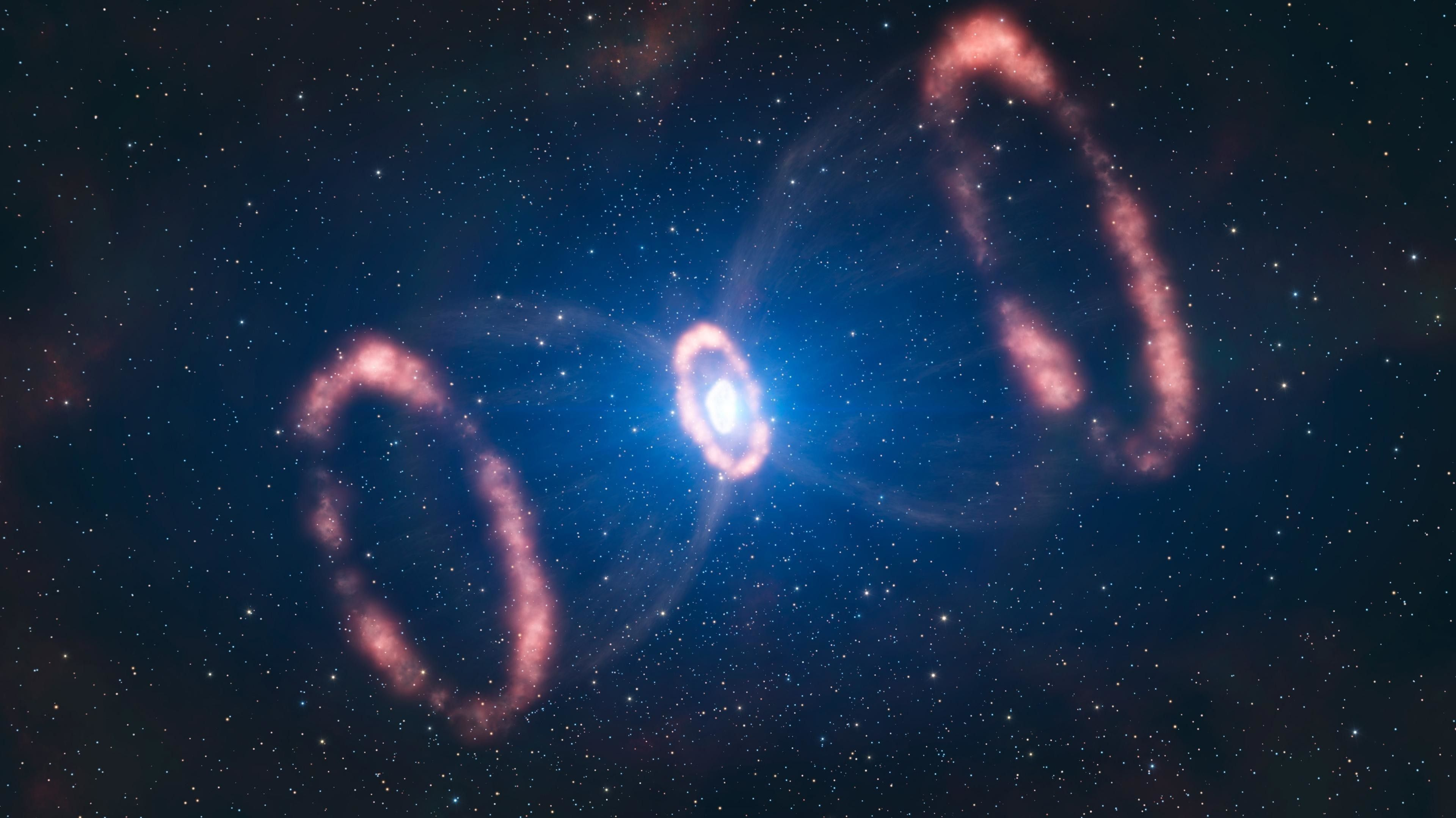 Res 3840x2160 4k Space Wallpapers Gravitational Waves Neutron Star Space And Astronomy