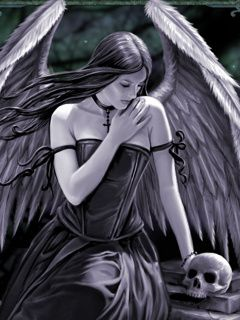 Download Dark Angel Mobile Wallpapers For Your Cell Phone Dark