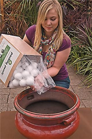 Lightweight Drainage System And Filler For Pots Helps Ensure Healthy